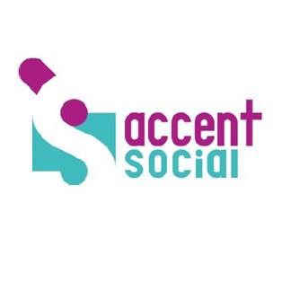 logo accent social