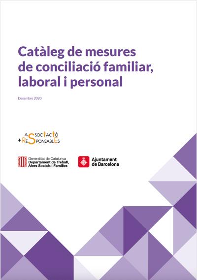 Catálogo de medidas de conciliación de la vida laboral, familiar i personal